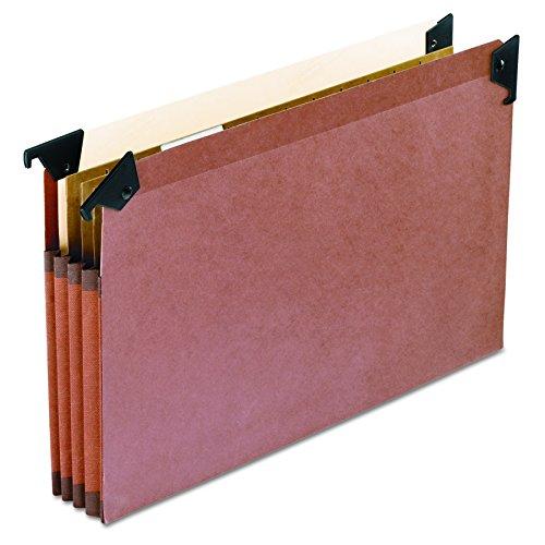 Pendaflex 45423zum Aufhängen Datei Taschen mit Swing Haken, 3-1/2Expansion, Legal, 5/BX - Swing-erweiterung