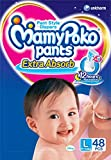 #9: Mamy Poko Pant Style Large Size Diapers Extra absorb (48 Count)