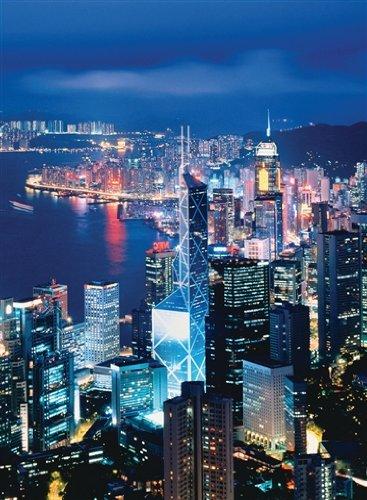 Preisvergleich Produktbild Ravensburger 16121 - Skyline Hong Kong, 1000 Teile Color Starline Puzzle