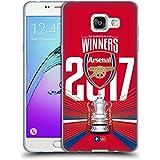 Officiel Arsenal FC Trophée 2017 The Emirates Fa Cup Winners Étui Coque en Gel molle pour Samsung Galaxy A5 (2016)