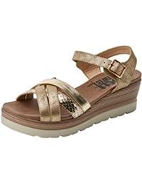 Femmes Ligue Vinyasa-plage Sandales T-slides, Gris Skechers