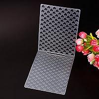 Teabelle Schlichtes Design Lovely Herz Muster Kunststoff Prägeschablonen für Heimwerker Karte Machen Dekoration Supplies Small Heart