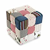 Versa - Kubik Hocker Romantic Patchwork