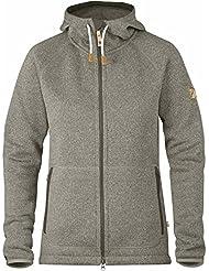 Fjällräven Damen Övik Fleece Hoodie W Pullover & Sweatshirt