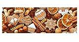Ursus 12722251 Motiv-Fotokarton, 10 Bögen, Weihnachtsgebäck, bunt, 300 g/qm, 49,5 x 68 cm