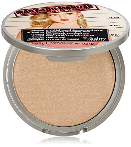 The Balm Mary-Lou Manizer Aka The Luminizer Shimmer Highlighter and Eyeshadow 0.3 Ounce