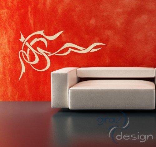 0_063 Kühlschrank Aufkleber Wandtattoo für Küche Spruch Pizza bestellen, Größe 58 x 40 cm, Farbe 063, lindgrün ()