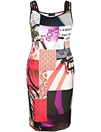 Doris Streich - Vestido - ajustado - Sin mangas - para mujer