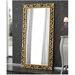 Espejo de madera artesanal–Made in Italy
