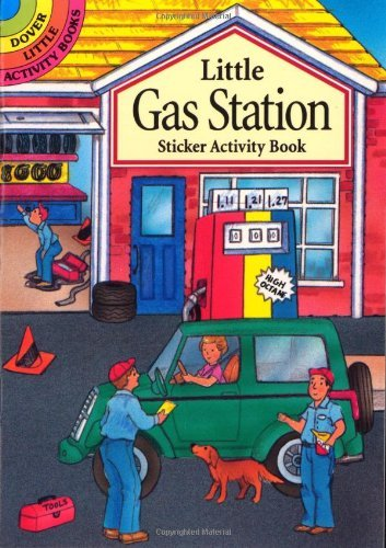 Little Gas Station Sticker Activity Book (Dover Little Activity Books) by Cathy Beylon (1998-06-08)