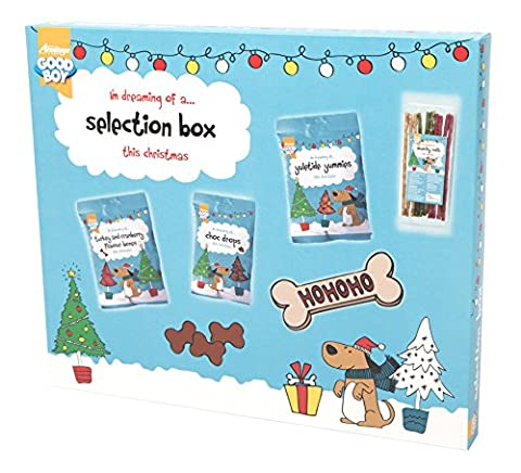 Good Boy Chien Noël Dog Treat Biscuit Box sélection (10492)