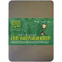 A Very Shakespearean Murder 6-14 Player Murder Mystery Flexi-Party