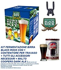 Idea Regalo - Set Birra Coopers Kit Di Accessori Per Produzione Di 23 Lt Di Birra Con Contenitore Travaso Tutti Gli Accessori