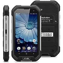 "Blackview BV6000 - 32GB Smartphone libre Impermeable IP68 (Android 6, 4G Lte, Pantalla 4.7"", Cámara 13.0 Mp, OctaCore 2.0GHz, NFC, Dual SIM, 3GB RAM, Gorilla Glass 3), Negro"
