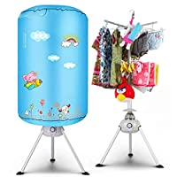 Baby Dedicated Clothes Dryer Double Mute Stereo Drying Stack Hanger -1000W Fast Drying Hot Air Blower