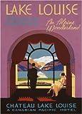 Vintage Travel Kanada für Lake Louise, eine Alpine Wonderland, 1938, 250gsm, glänzend, A3, vervielfältigtes Poster