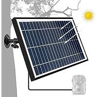 ARTITAN Solar Ladegerät Ladekabel Solar Powerbank Sunpower Solar Panel Ladegerät Outdoor Solar Ladegerät für Solarpanel-Ladegerät Charger 6V Ausgang für Wildkamera Wie Camping Wandern Jagd
