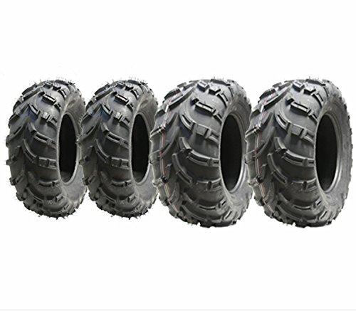 Set di pneumatici 4 Quad Pneumatici 25X10-12 & 25X8-12 6ply ATV E segnato st