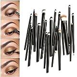 Tonsee 20PCS Makeup Brush Set Dotting Cosmetic Tools Shadow Pen Eyeliner Brush
