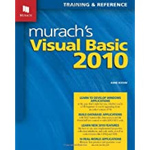 Murach's Visual Basic 2010 by Anne Boehm (2010-09-13)
