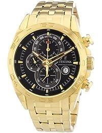 Reloj Viceroy de hombre clásico, acero dorado en oro 40403 97