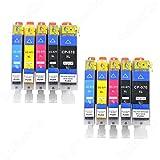 10 x Drucker Patrone VKD für Canon PIXMA MG5050 MG5751 MG 5752 5753 6850 6851 6852 6853 XL NEU