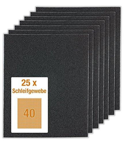 25Bl.Schleifp. K 40 métallique (25 Bogen = 1)