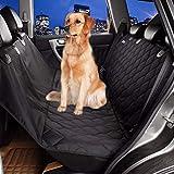 Coprisedili per auto Gegequnaerya Pet panca posteriore impermeabile 600D Oxford interni auto accessori da viaggio Car Seat Covers tappetino per animali domestici cane