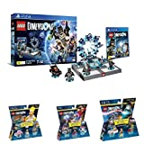 LEGO - Starter Pack Dimensions (PS4) + Level pack: Back To The Future, Marty McFly + Level pack: Los Cazafantasmas, Peter Venkman + Level pack: The Simpsons, Homer