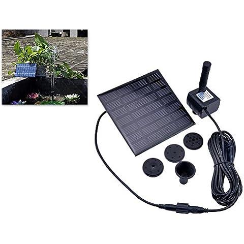 1.2W Solar Garden Fountain Le Piante di