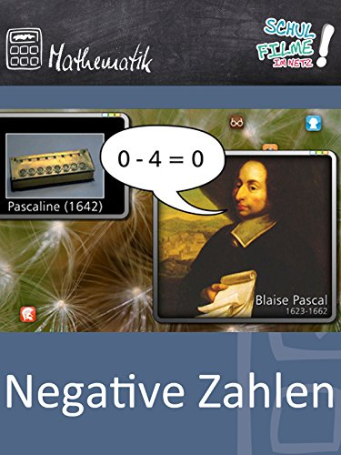 Negative Zahlen - Schulfilm Mathematik