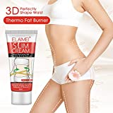 ELAIMEI Anti Cellulite Slim Hot Sweat Cream, Accelarating Loss Weight Build Body Tighten&Firmers
