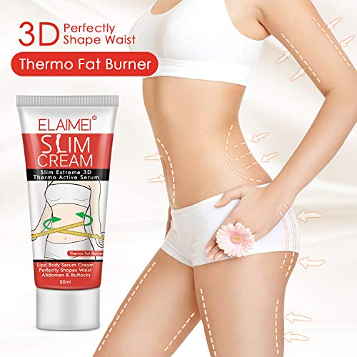 60ml Natural Formula Women Body Slimming Cream Fast Fat Burning Weight Loss Thin Waist Leg Belly Cream Anti Cellulite Massage Elegant In Smell Cleansers Shower Oils