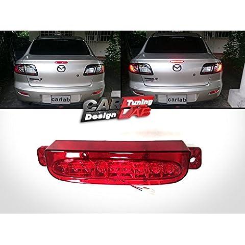 Terzo STOP 1 luce LED 3 freno per Mazda 3 (modelli 2004-2008) Axela 4D SEDAN