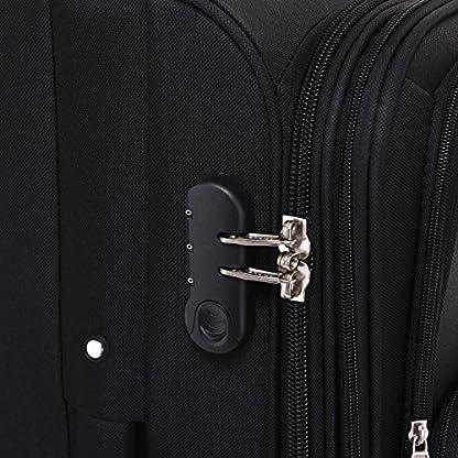 Kofferset-Trolley-Gepckset-Stoff-Dehnungsfuge-Koffer-Reisekoffer