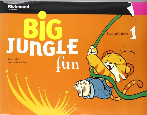 Big jungle fun 1 student's pack