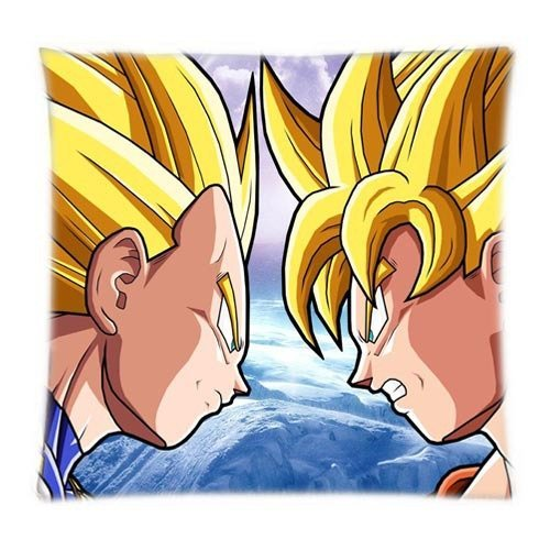 Alexander New Goku Vs Vegeta Dragon Ball Soft Cool Cover Zwei Größe Comfort Betten-Set Kissenbezüge, 18x18inch -