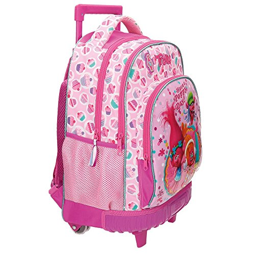 Imagen de trolls happy  escolar, 43 cm, 28.90 litros, rosa alternativa