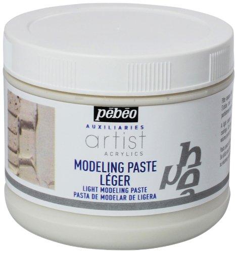 Pébéo Studio Modellierpaste, 500 ml, Weiß