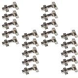 20 x SO-TECH® Topfband Topfbänder T52 Eckanschlag mit Dämpfer