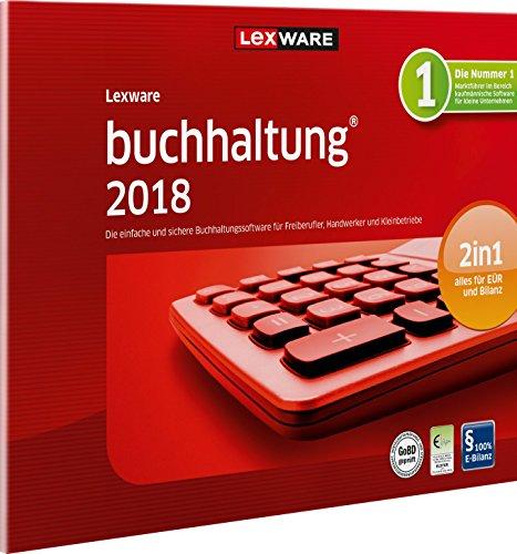 Lexware buchhaltung 2018 basis-Version in frustfreier Verpackung (Jahreslizenz)|Einfache Buchhaltungs-Software für Freiberufler, Handwerker und Vereine|Kompatibel mit Windows 7 oder aktueller