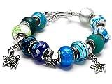 Best Cousin Bracelets - Cousin 34699710 16 Piece Turtle Charm Large Hole Review