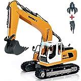 KEISL 3-in-1 Ingenieurmaschinen-Auto, RC Bagger, Fernbedienung, Traktor, Spielzeug, Baufahrzeuge