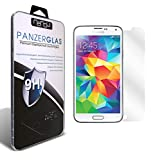 nandu I Samsung Galaxy S5 Echtglas I 2D Cover Glas I Tempered Glass 9H Härte I Schutzglas I Hartglas I Displayschutzglas