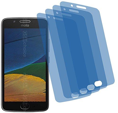 4ProTec 4X GEHÄRTETE ANTIREFLEX matt 3D Touch Schutzfolie für Lenovo Moto G5 Displayschutzfolie Schutzhülle Bildschirmschutz Bildschirmfolie Folie