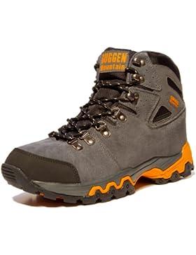 Bergschuhe Bergstiefel Wanderschuhe Wanderstiefel Mountain Boots Trekkingschuhe Unisex GUGGEN MOUNTAIN M008, Grau...