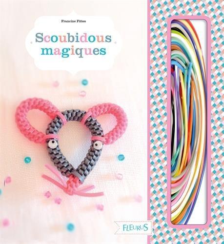 Scoubidous magiques : Avec 8 modèles de scoubidous, 28 fils à scoubidous, 3 paires d'yeux mobiles et 1 anneau porte-clés