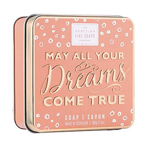 Scottish Fine Soaps May All Your Dreams Come True Soap Tin 100g -