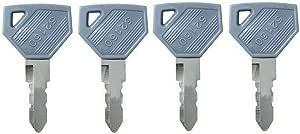 Baaqii 4 Stück 52160 Schlüssel Baggerschlüssel Für Yanmar Bagger