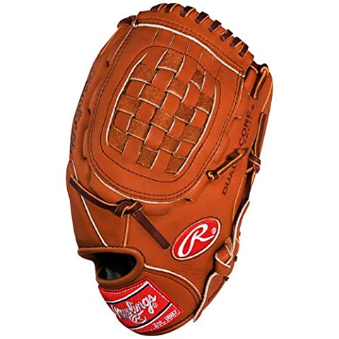 Rawlings Gold Handschuh Limited ggl20dc Baseball Handschuh, braun (Infielders Glove)